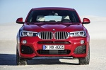 2016 BMW X4 xDrive35i in Melbourne Red Metallic - Static Frontal View