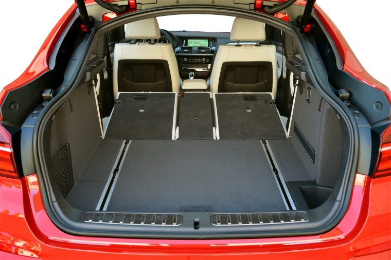 2017 BMW X4 Trunk with seats folded Picture