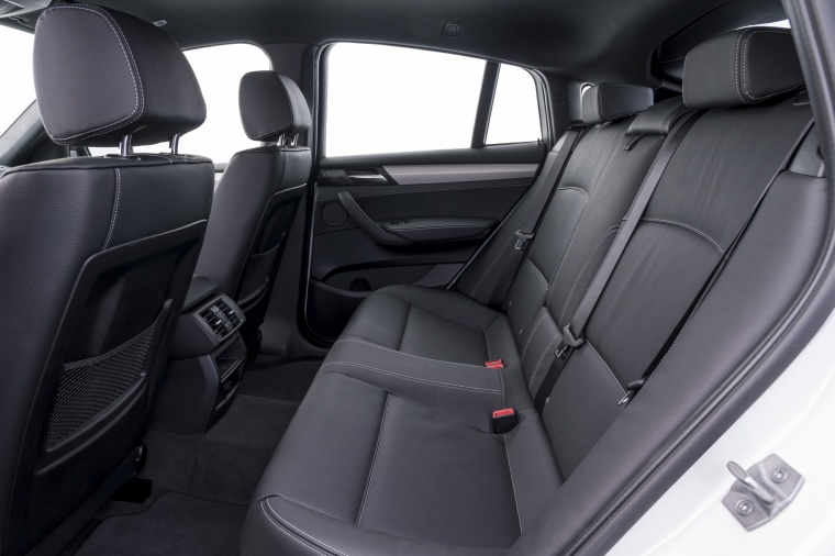 2017 BMW X4 M40i Rear Seats Picture