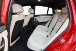 2017 BMW X4 Rear Seats