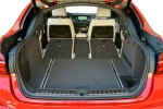 2017 BMW X4 Trunk with seats folded