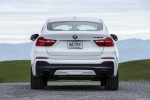 2017 BMW X4 M40i in Mineral White Metallic - Static Rear View