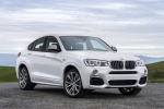 2017 BMW X4 M40i in Mineral White Metallic - Static Front Right View