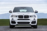 2017 BMW X4 M40i in Mineral White Metallic - Static Frontal View