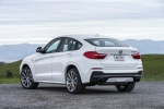 2017 BMW X4 M40i in Mineral White Metallic - Static Rear Left View