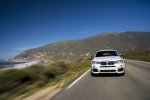 2017 BMW X4 M40i in Mineral White Metallic - Driving Frontal View