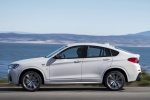 2017 BMW X4 M40i in Mineral White Metallic - Driving Side View
