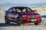 2017 BMW X4 in Melbourne Red Metallic - Static Front Right View