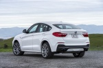 2018 BMW X4 M40i in Mineral White Metallic - Static Rear Left View