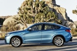2018 BMW X4 M40i in Long Beach Blue Metallic - Static Side View