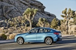 2018 BMW X4 M40i in Long Beach Blue Metallic - Static Rear Left Three-quarter View
