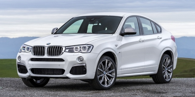 2018 BMW X4 Pictures