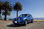 2010 BMW X5 M in Monte Carlo Blue Metallic - Static Front Left Three-quarter View