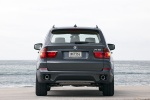 2011 BMW X5 xDrive50i in Sparkling Bronze Metallic - Static Rear View
