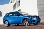 2013 BMW X5 M in Monte Carlo Blue Metallic - Static Front Right Three-quarter View