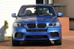 2013 BMW X5 M in Monte Carlo Blue Metallic - Static Frontal View