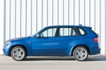 2013 BMW X5 M in Monte Carlo Blue Metallic - Static Left Side View