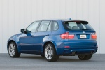 2013 BMW X5 M in Monte Carlo Blue Metallic - Static Rear Left Three-quarter View