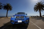 2013 BMW X5 M in Monte Carlo Blue Metallic - Driving Frontal View