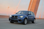2013 BMW X5 M in Monte Carlo Blue Metallic - Driving Front Left Three-quarter View