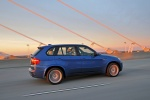 2013 BMW X5 M in Monte Carlo Blue Metallic - Driving Right Side View