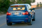 2013 BMW X5 M in Monte Carlo Blue Metallic - Driving Rear Right View