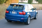 2013 BMW X5 M in Monte Carlo Blue Metallic - Driving Rear Right Three-quarter View
