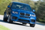 2013 BMW X5 M in Monte Carlo Blue Metallic - Driving Front Right View
