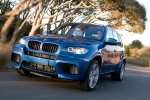 2013 BMW X5 M in Monte Carlo Blue Metallic - Driving Front Left View