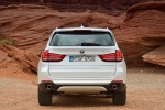 2014 BMW X5 xDrive35d in Alpine White - Static Rear View