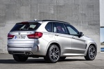 Picture of a 2018 BMW X5 M in Donington Gray Metallic from a rear right three-quarter perspective