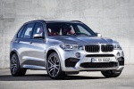 Picture of a 2018 BMW X5 M in Donington Gray Metallic from a front right three-quarter perspective