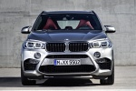 Picture of a 2018 BMW X5 M in Donington Gray Metallic from a frontal perspective