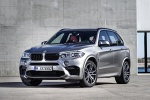Picture of a 2018 BMW X5 M in Donington Gray Metallic from a front left three-quarter perspective