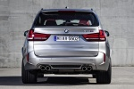 Picture of a 2018 BMW X5 M in Donington Gray Metallic from a rear perspective