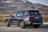 Picture of a 2019 BMW X7 xDrive40i AWD in Arctic Gray Metallic from a rear left three-quarter perspective