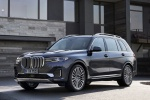 2019 BMW X7 xDrive40i AWD in Arctic Gray Metallic - Static Front Left Three-quarter View