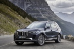 2019 BMW X7 xDrive40i AWD in Arctic Gray Metallic - Static Front Left View