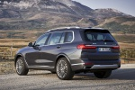 2019 BMW X7 xDrive40i AWD in Arctic Gray Metallic - Static Rear Left Three-quarter View
