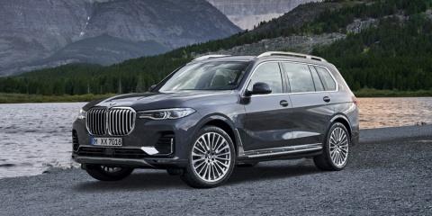 2019 BMW X7 xDrive40i, xDrive50i AWD Review