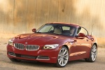 2010 BMW Z4 sdrive35i in Crimson Red - Static Front Left View