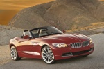 2010 BMW Z4 sdrive35i in Crimson Red - Static Front Right Three-quarter View
