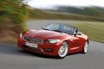 2012 BMW Z4 sdrive35is in Crimson Red - Driving Front Left Three-quarter View