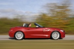 2015 BMW Z4 sdrive35is in Crimson Red - Driving Right Side View