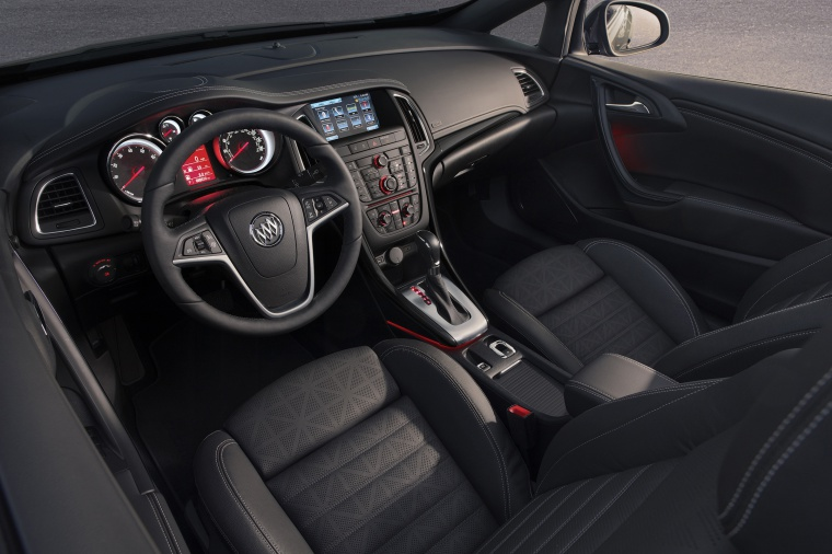 2017 Buick Cascada Convertible Interior Picture