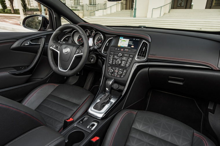 2017 Buick Cascada Sport Touring Convertible Interior Picture