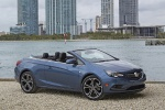 2017 Buick Cascada Convertible in Deep Sky Metallic - Static Front Right Three-quarter View