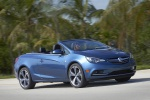 2017 Buick Cascada Convertible in Deep Sky Metallic - Driving Front Right Three-quarter View