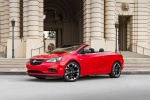2017 Buick Cascada Sport Touring Convertible in Sport Red - Static Front Left Three-quarter View