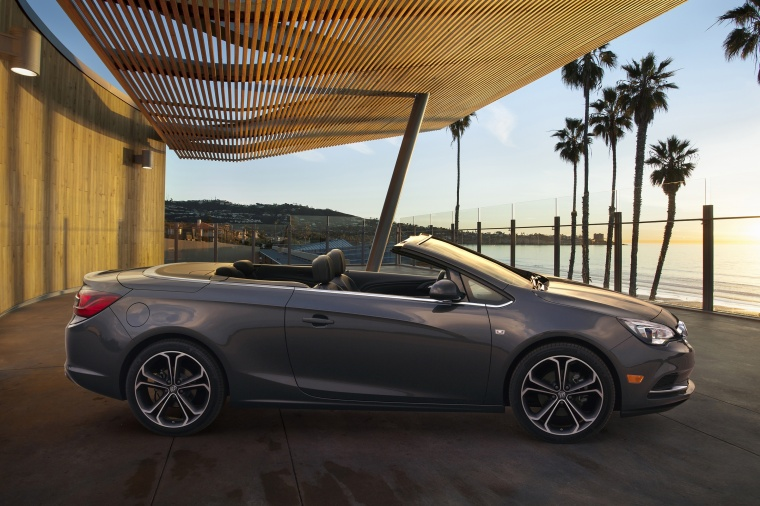 2018 Buick Cascada Convertible from a side view